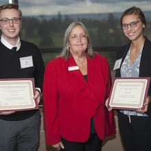 David F. McIntire Scholarship, Jake Warren, Alexis Munter