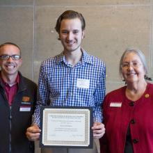 Department of Economics Scholarship, Kevin Breimhusrt