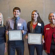 Donald and Nancy Moline Scholarship, Charles Athmann, Anna Jensen