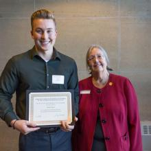 Dr. David and Roberta Vose Scholarship, Daniel Peters