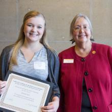 Drazkowski Family Scholarship, Hannah Karl