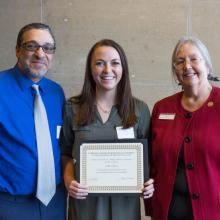 Fawzi G. Dimian Alumni Scholarship, Callie Chester