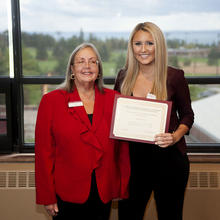 Flint Group Marketing Scholarship, Anne Hanson