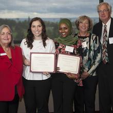 Jim, Kathy, and Brent Vizanko Family Scholarship, Megan Anderson, Iman Geleto