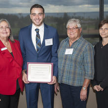John and Carol Lilyquist Family Scholarship, Brandon Evancevich