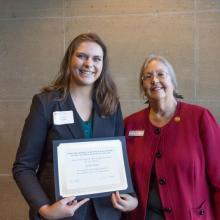 Joseph M. Thell Family Scholarship, Rachel Pompa