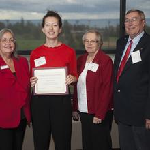 L. J. Syck Scholarship, Abigail McMahon