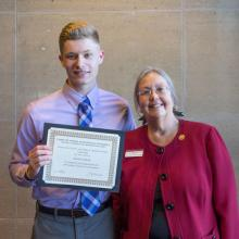 Lloyd D. and Audrey E. Ratkovich Family Scholarship, Brendon Cleland-Babock