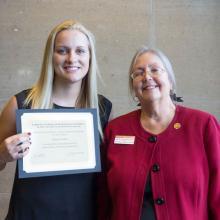 Matthew G. Chutich Memorial Scholarship, Megan Brodeen