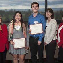 Minnesota Power Employees Credit Union (MPECU) Scholarship, Rayna Velasquez, Cory Larson