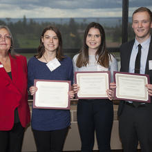 Minnesota Society of Certified Public Accountants Scholarship, Amanda Kedrowski, Danielle Hoppe, Carter Mandelkow