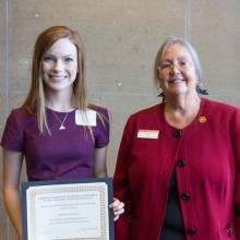 Richard and Marian Bostrom Scholarship, Julianna Erickson
