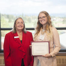 Richard and Marian Bostrom Scholarship, Kari Watson
