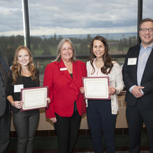RSM US LLP Accounting Scholarship, Jayme Taverna, Jordyn Foley
