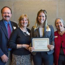 Shusterich Scholarship, Ellie Anderson