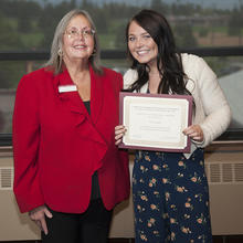 University for Seniors Scholarship, Erica Taylor