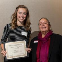 Lillian F. and William C. Johnson Memorial Scholarship - Lauren Landry