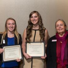 Minnesota Power Employees Credit Union (MPECU) Scholarship - Burgandy Mallinger - Caitlyn Walker