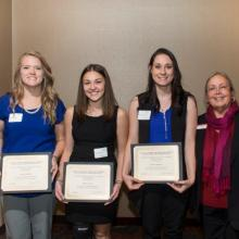 Minnesota Society of C.P.A.s Accounting Scholarship - Allison Millard - Bailey Simon - Kaitlyn Kastner