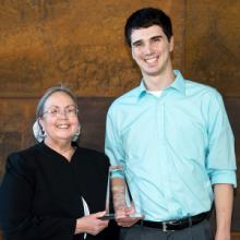Kyle Voelker, Academic Achievement and Commitment to the Management Profession