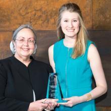 Jillian Klasen, Student Service Excellence Award