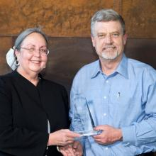 John Kratz, Above and Beyond Award