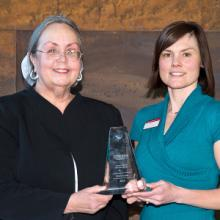 Kim Dauner, Faculty Service Excellence Award