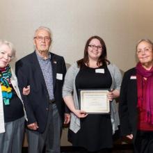 Richard and Marian Bostrom Scholarship - Lindsey Bennett